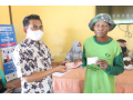 Dinas Kominfo Dompu Tunaikan Tugas Penyaluran Dana JPS Terpijar di Desa Rasabou dan Sawe