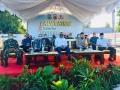 Lawan Covid-19, Polres Dompu Ikuti Launching Program Lomba Kampung Sehat