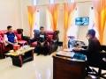 Kenalkan Aplikasi Kururio, Kadis Kominfo Dompu Tatap Muka Dengan Relawan TIK