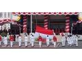 HUT RI Ke-75, Bupati Dompu Pimpin Upacara Pengibaran Bendera Merah Putih di Lapangan Beringin