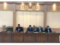 Bupati Dompu Hadiri Rapat Paripurna Penyampaian Rancangan KUA-PPAS APBD Perubahan Tahun Anggaran 2020