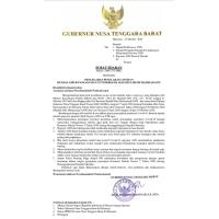Surat Edaran Gubernur NTB – Pencegahan Penularan Covid 19 dimasa Cuti Bersama Maulid Nabi Muhammad SAW