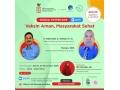 Ikuti Webinar KPCPEN Vaksin Aman Masyarakat Sehat di Kabupaten Dompu