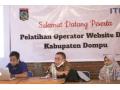 Diskominfo Kabupaten Dompu bersama ITEC Berikan Pelatihan Operator Website di Desa Lanci Jaya