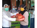 DWP Dompu Peduli Korban Angin Puting Beliung di Manggelewa