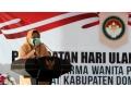 HUT Ke-21 Dharma Wanita Persatun Kabupaten Dompu