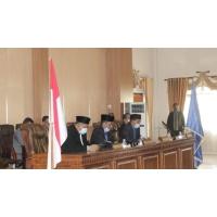 DPRD Kabupaten Dompu Gelar Paripurna Pengumuman Hasil Penetapan Bupati dan Wakil Bupati Dompu Terpilih Periode 2021-2026
