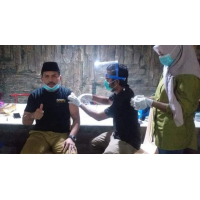Bupati dan Wakil Bupati Dompu Jalani Vaksinasi Tahap Dua