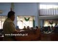 Wakil Bupati pada Rapat Paripurna DPRD Kab. Dompu (29 Februari 2016)
