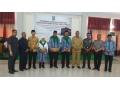 Bupati Dompu Melepas Secara Resmi Jamaah Calon Haji (JCH) Kabupaten Dompu.