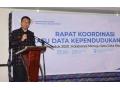 Gubernur Buka Rakor Satu Data Kependukan Indonesia 2019.