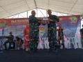 Digelar Di Dompu, Hari Infanteri TNI AD Ke-71, Adakan Long March dan Upacara