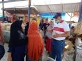 Masuki Musim Penghujan Bupati Dompu Bersama ASN Lakukan Bersih-Bersih Pasar