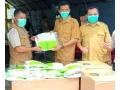 BPBD Dompu Terima Bantuan 500 Pcs Baju APD dari BPBD Provinsi NTB